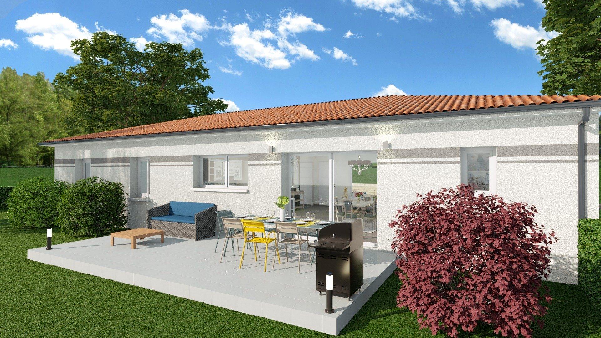Extension Maison Terrasse Couverte découverte - demeures côte argent